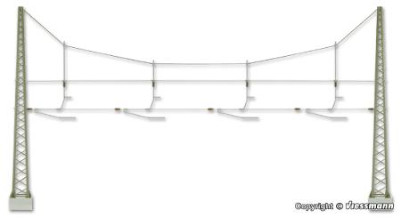 H0 Viessmann 4163 Quertragwerk über 4 Gleise